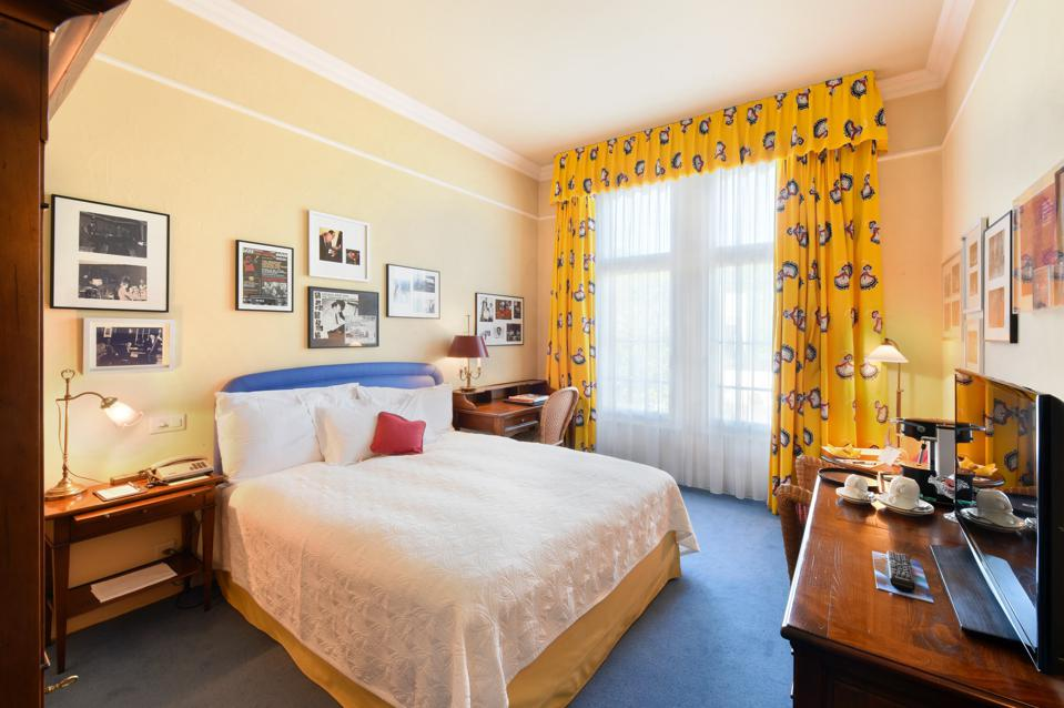 Want To Chase Away The Blues? Bed Down At Bern's Jazz Hotel
