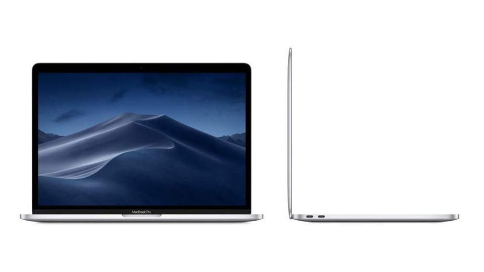 Apple MacBook Pro on a white background.