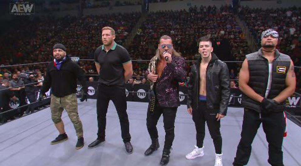 AEW Dynamite Inner Circle NXT Wednesday Night Wars October 9 Chris Jericho Jack Swagger