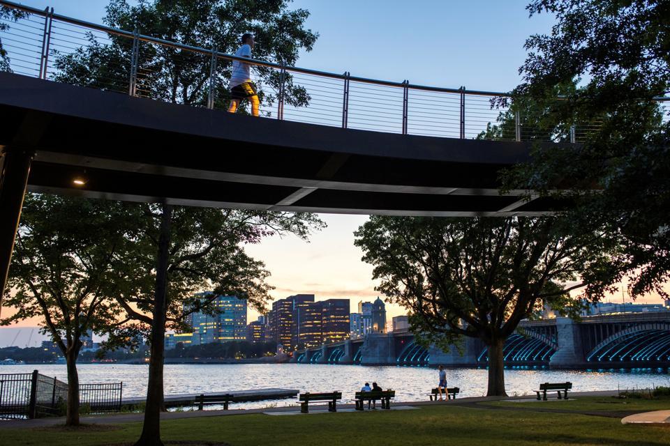 Esplanade Charles River Basin Boston