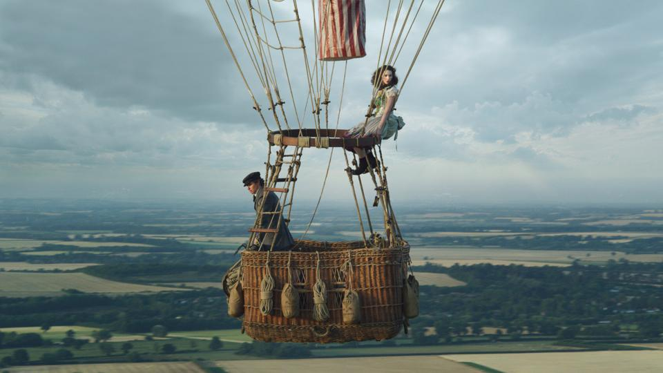 BFI London Film Festival premiered 'The Aeronauts'