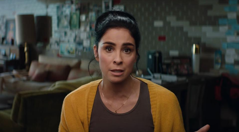 Sarah Silverman discusses comedy and mental health in 'Laughing Matters' short documentary.