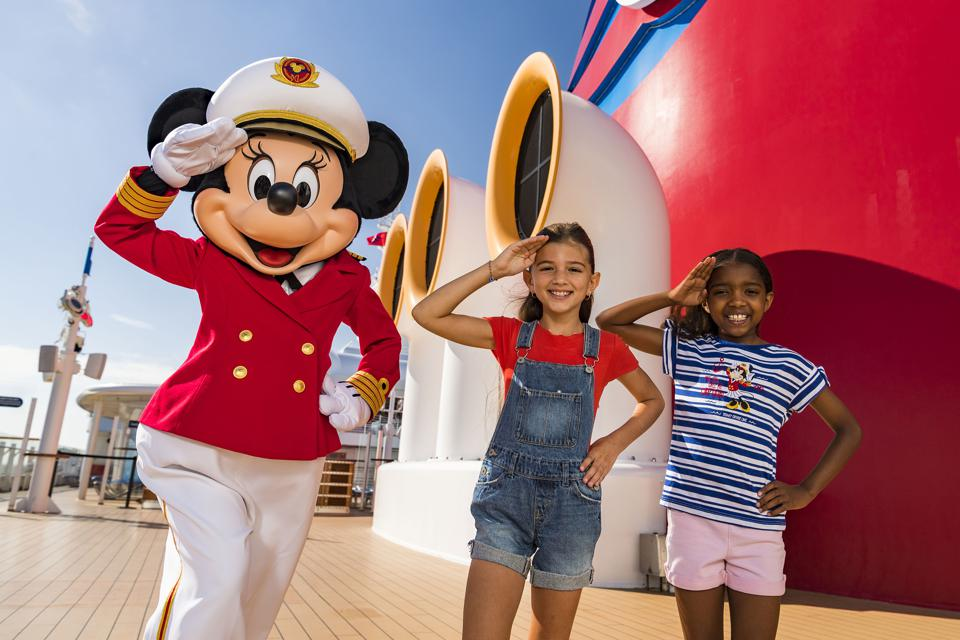 Disney Cruise Line Captain Minnie