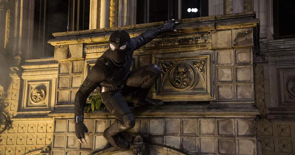 Spider-Man: Far From Home stealth costume.