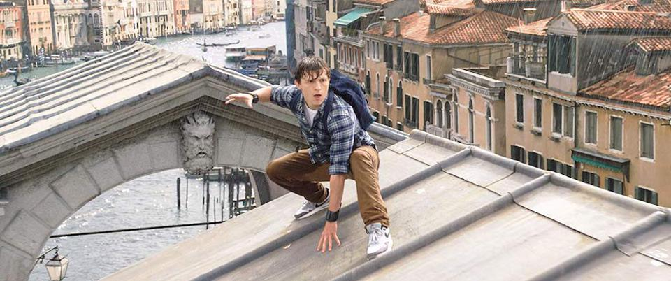 Spider-Man: Far From Home features scenes in Venice