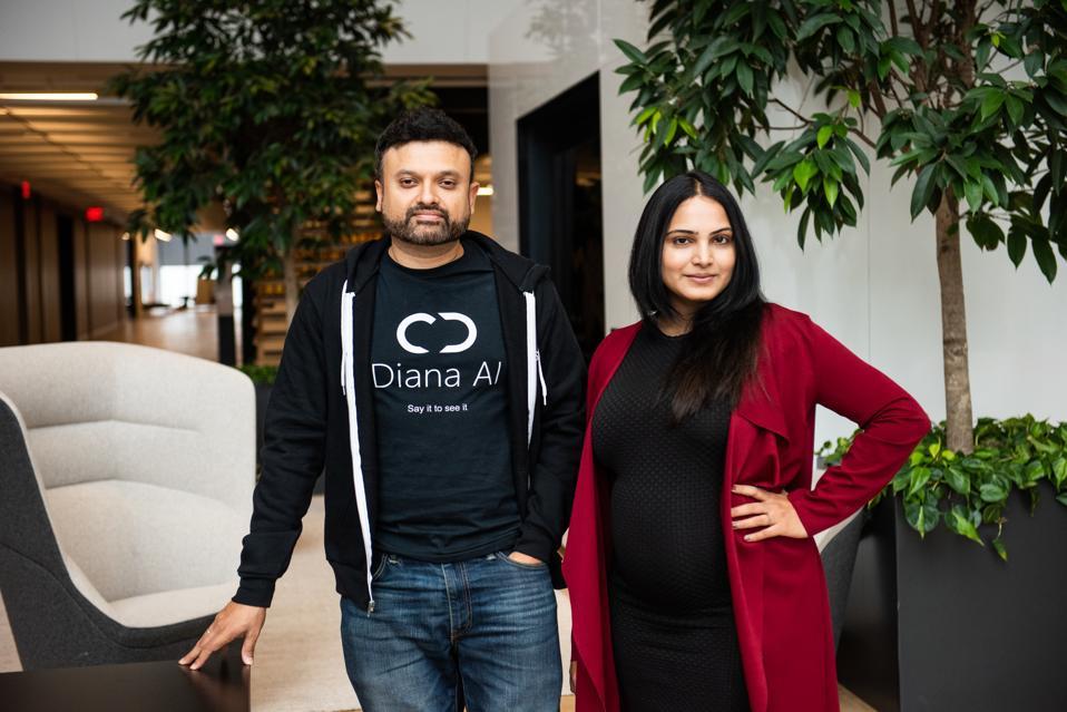 Diana AI Founders, Geeta Banda (CEO) & Teja Nanduri