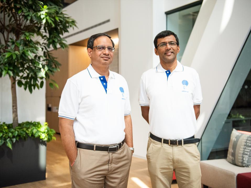 edisn.ai founders, Ashok Karanth (CEO) & Akshay Chandrasekhar