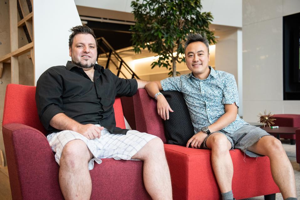 Pivan Interactive Founders, David Sturgeon & Constantine Tsang