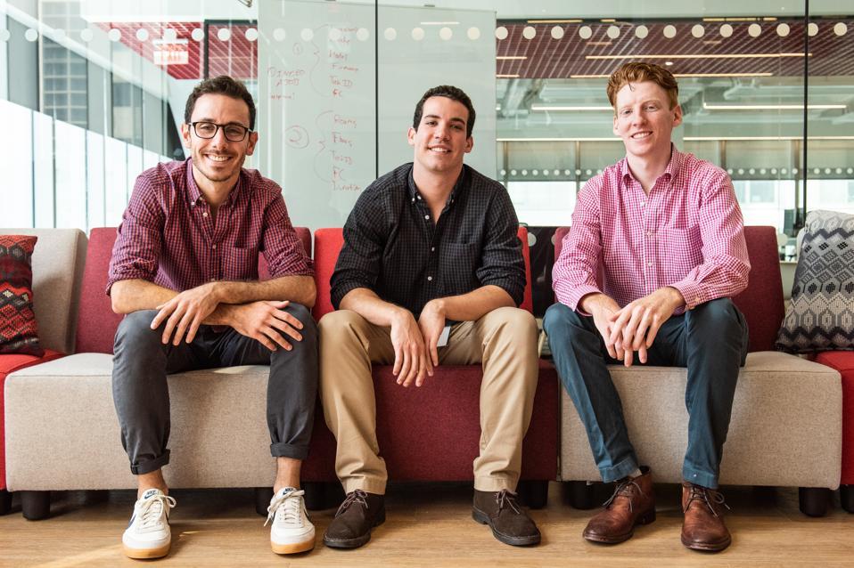Sporttrade Founders, Alexander Kane, Greg Scott, & Henry Fuz