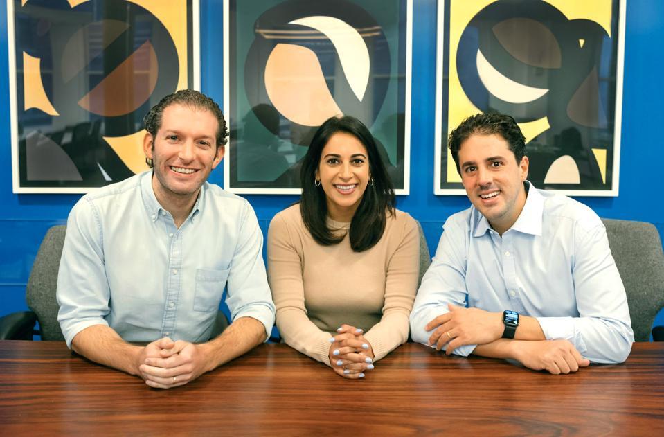 BoxGroup partners Adam Rothenberg, Nimi Katragadda and David Tisch.