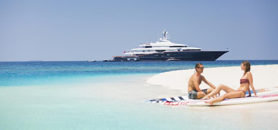 Superyachts are hyper exclusive and can bring owners to beautiful places on earth.