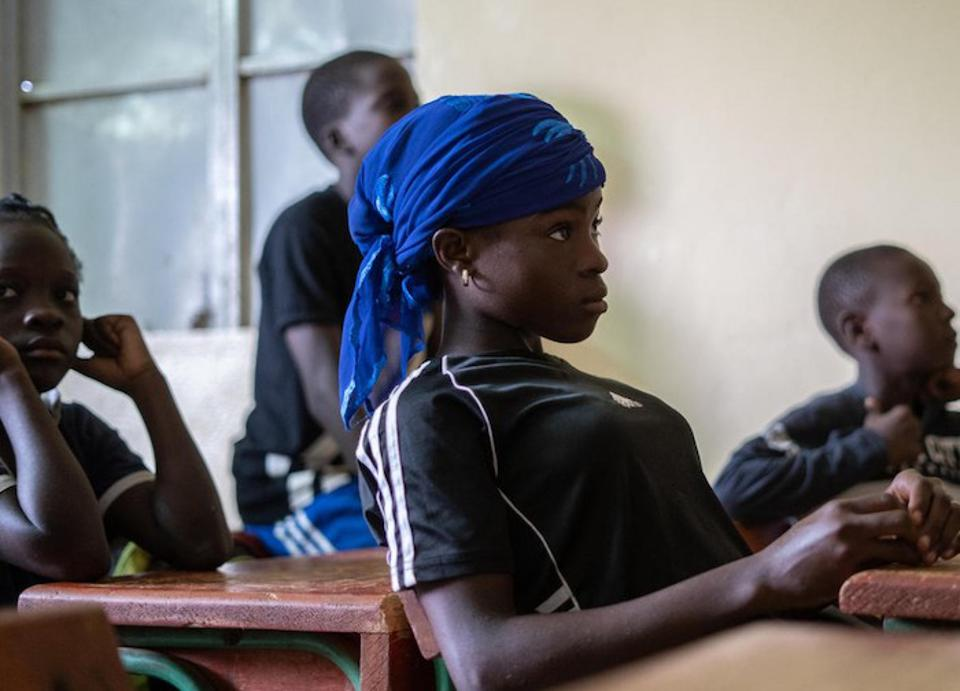For Pascaline, a teenager living in a poor neighborhood in Niger's capital, Niamey, a UNICEF-supported program means the chance to go to school, play soccer and make her own decisions about her future.