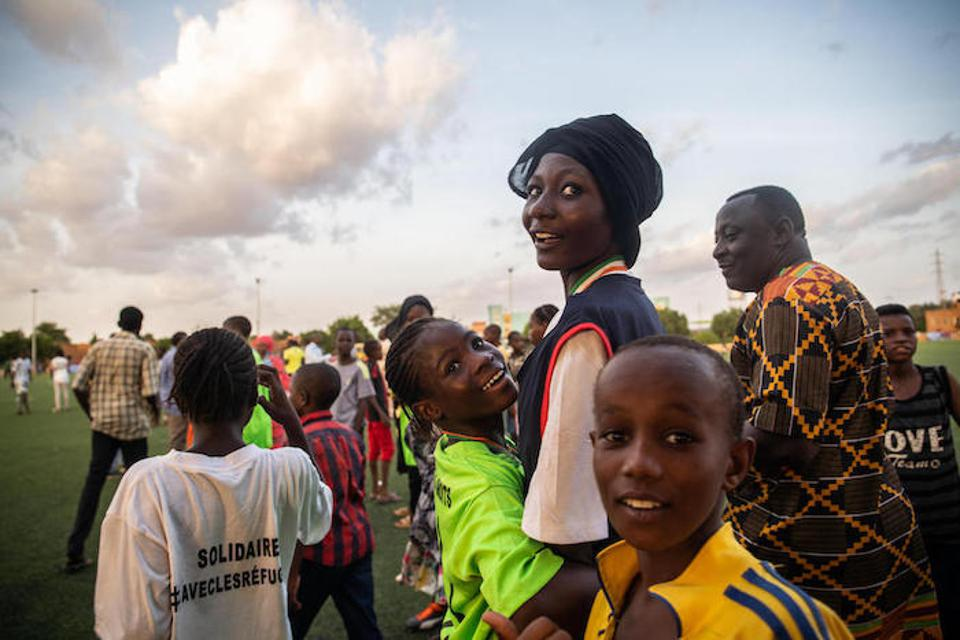 Playing soccer —and winning —gives girls a chance to feel how powerful they can be.