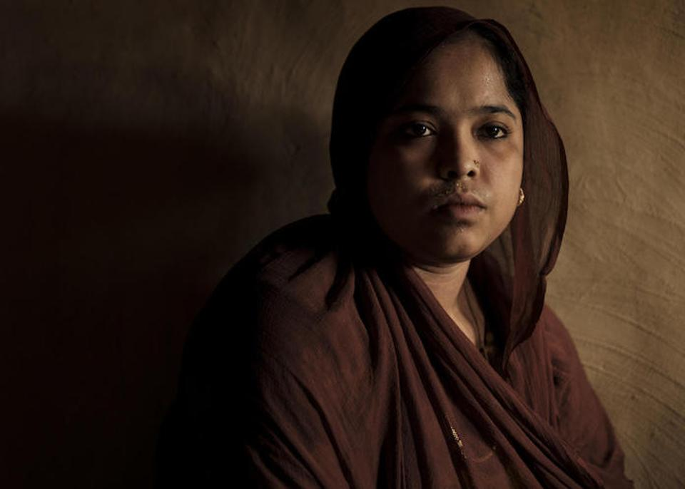 Shahina, 17 and her younger brother, 15-year-old Abdullah, were kidnapped by traffickers their father hired to smuggle the pair from Cox's Bazar, Bangladesh to Malaysia.
