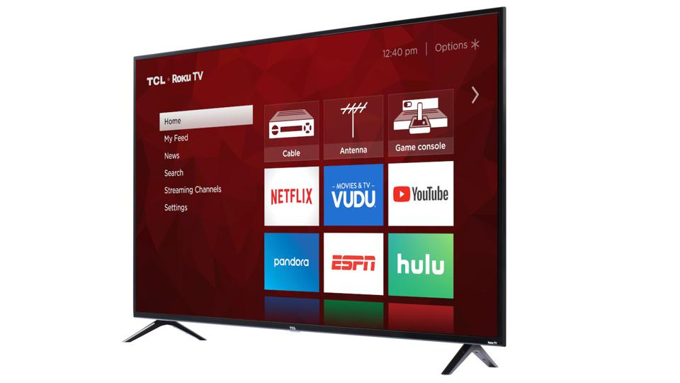 The 65-Inch TCL 4K TV Is More Than 50% Off
