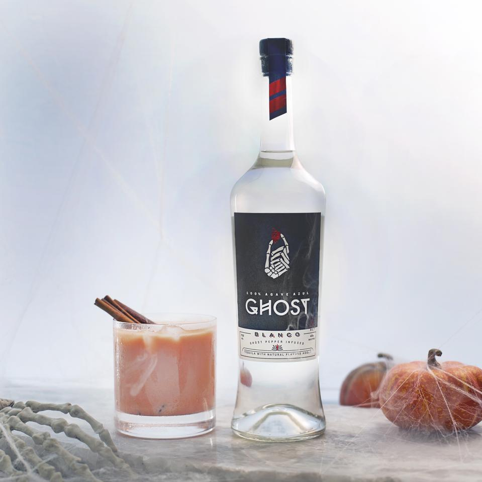 The Ghost PSL cocktail and bottle
