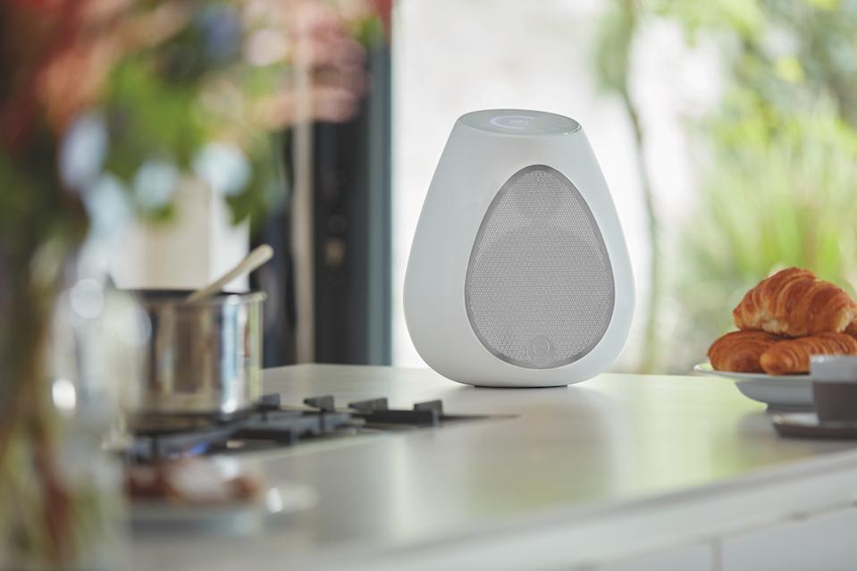 Linn Series 3 speaker in kitchen