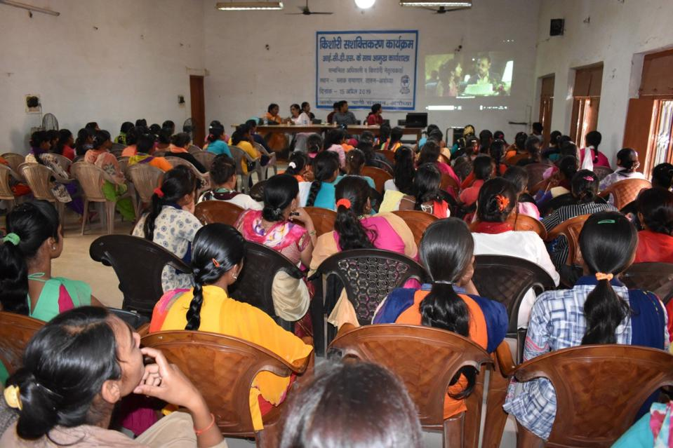 A film screening was organised in April 2019 for both adolescent girls and boys in Uttar Pradesh, to raise awareness.