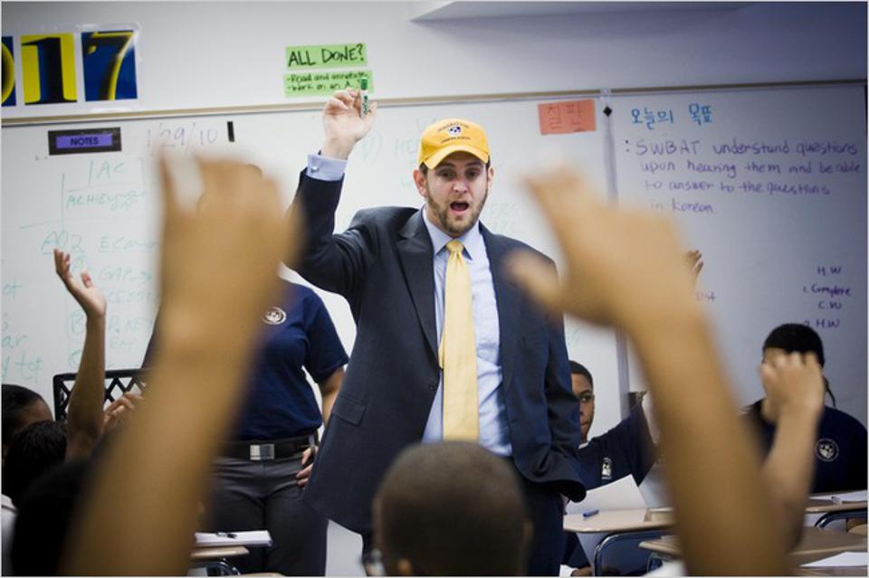 Seth Andrew, the founder of Democracy Prep in Harlem.