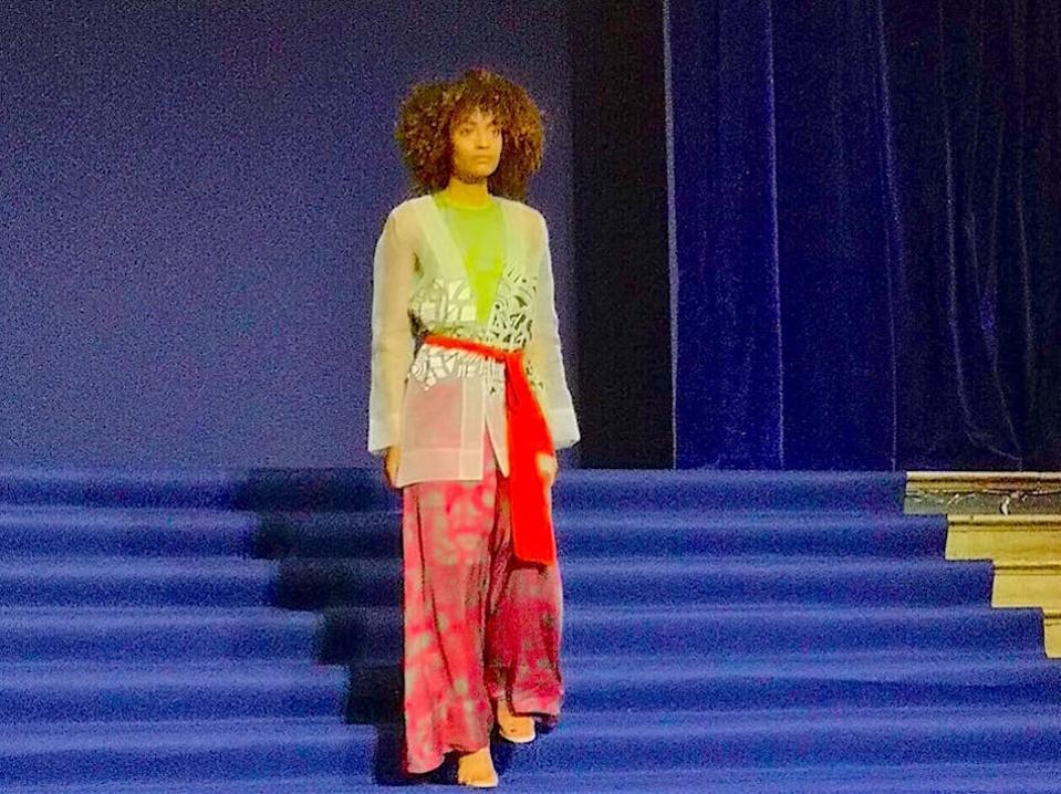 Pariha spring/summer 2020 shown at Paris Fashion Week, September 2019