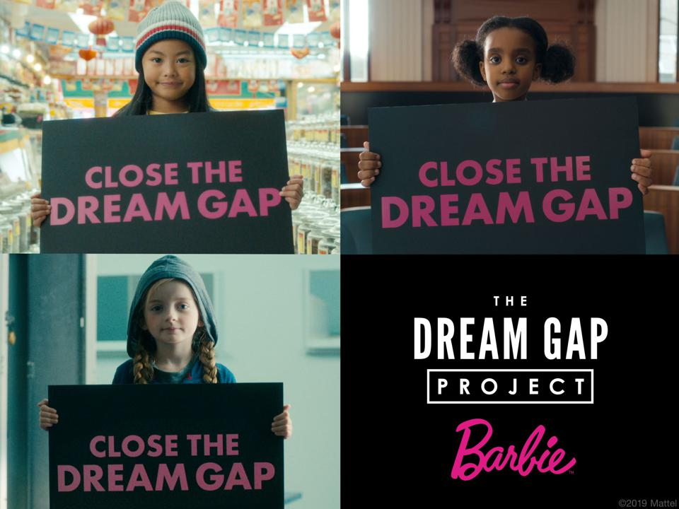 Mattel's Dream Gap Campaign