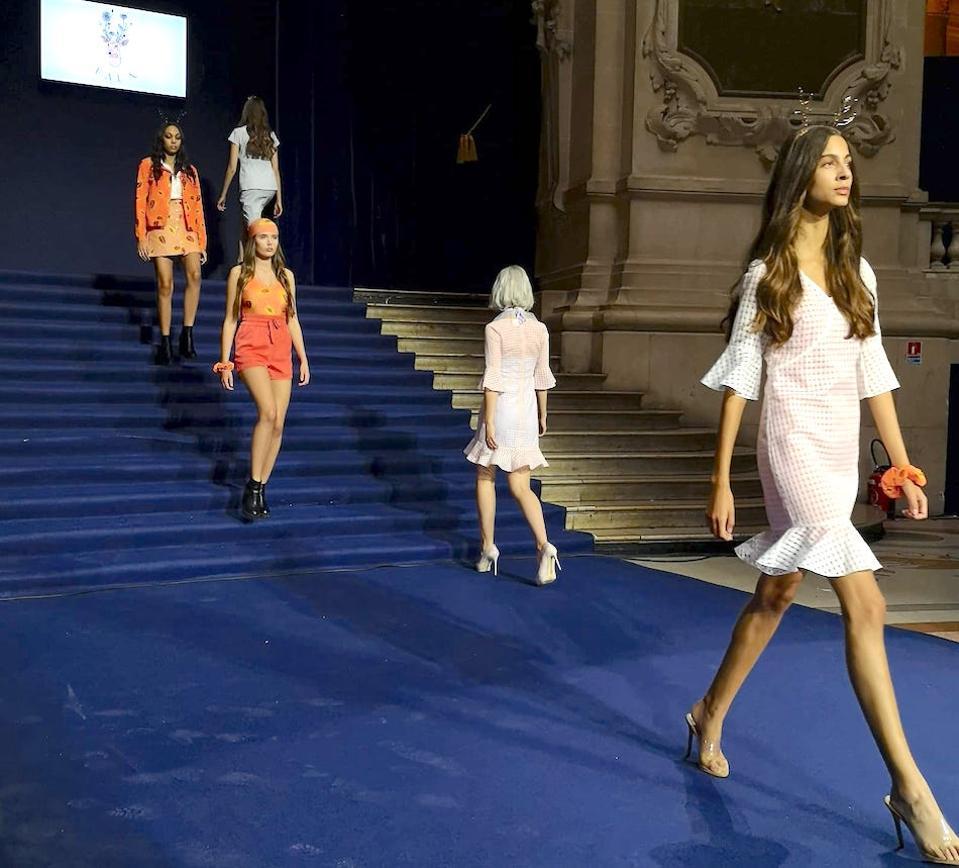 Faun shown at Paris Fashion Week, September 2019