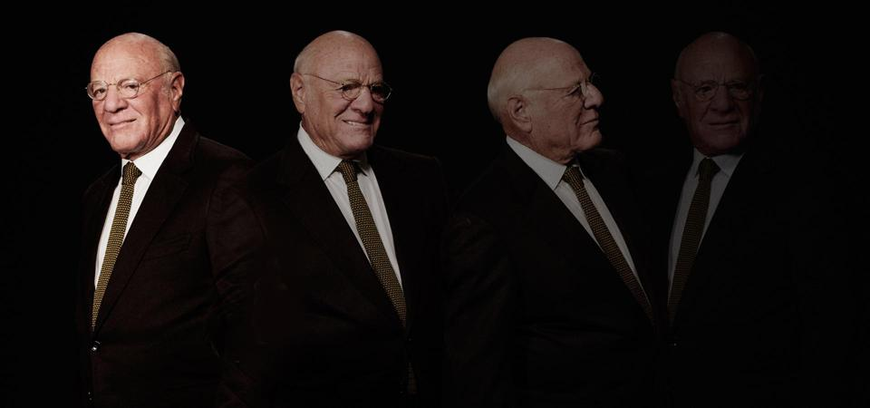 Barry Diller sits for photos in the Forbes 400