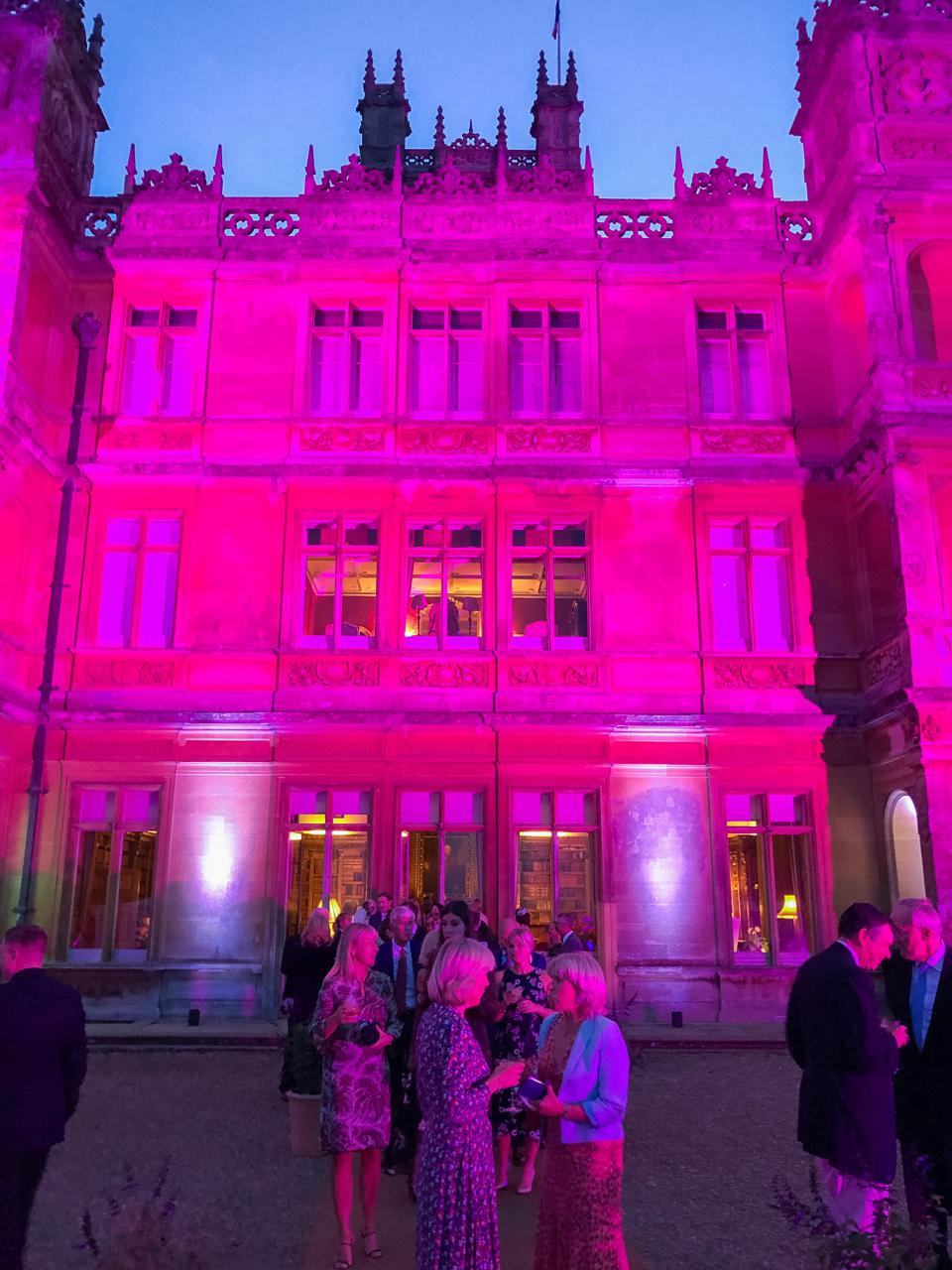HIGHCLERE CASTLE - Guests mingled at castle on the weekend of the Highclere Castle Gin launch