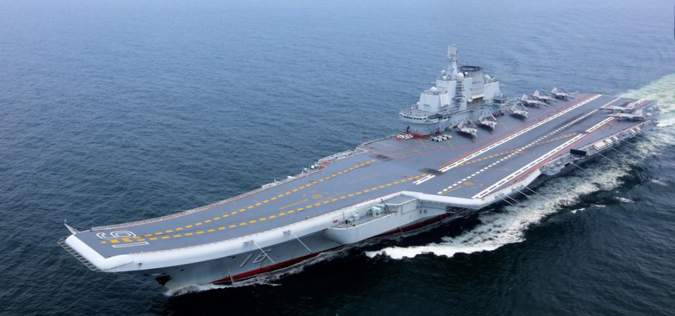 China's Aircraft Carriers Fueling New Arms Race