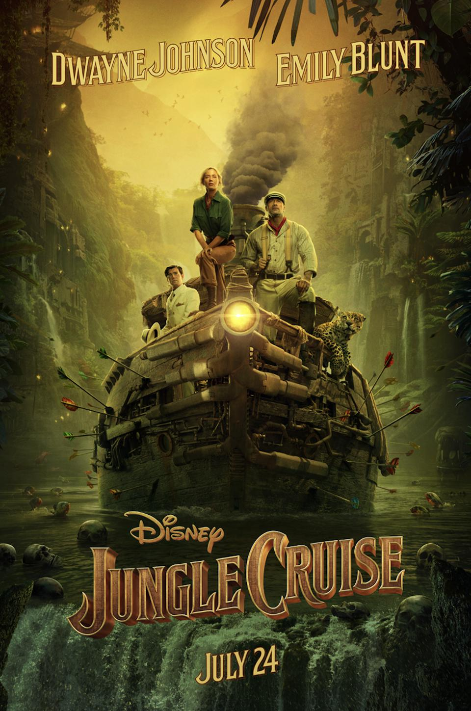 Trailers: 'Jungle Cruise' Plays Like Walt Disney's Version Of 'The Mummy' As 'Charlie's Angels' Amps Up The Action