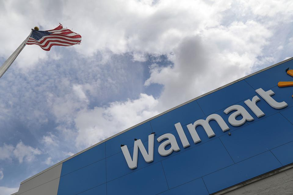 Shares in the world's largest retailer tumbled on Thursday, despite strong holiday sales.