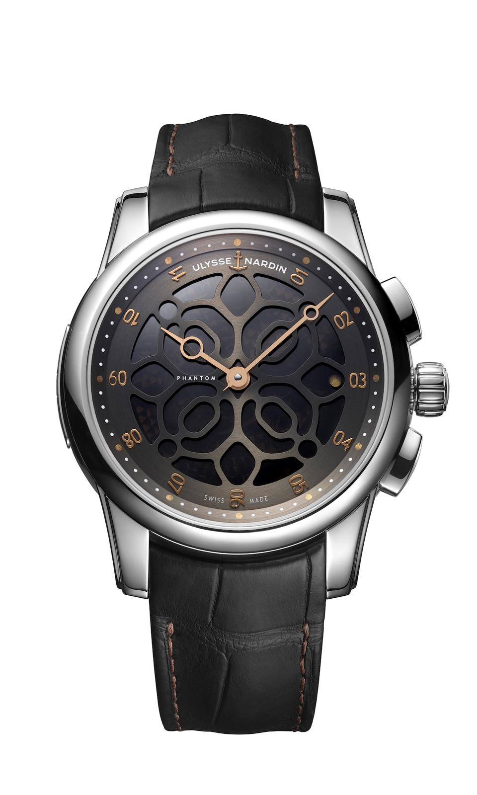 Ulysse Nardin Teams With Devialet Speaker Company For New Hourstriker Phantom Watch