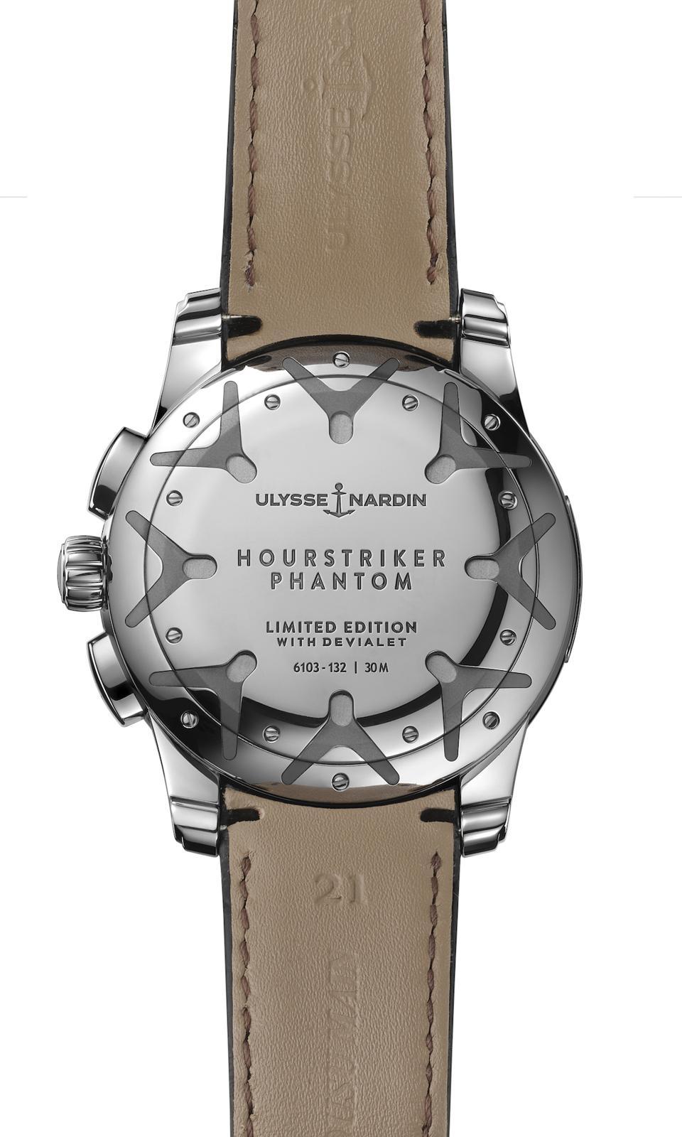 Ulysse Nardin HourStriker Phantom watch