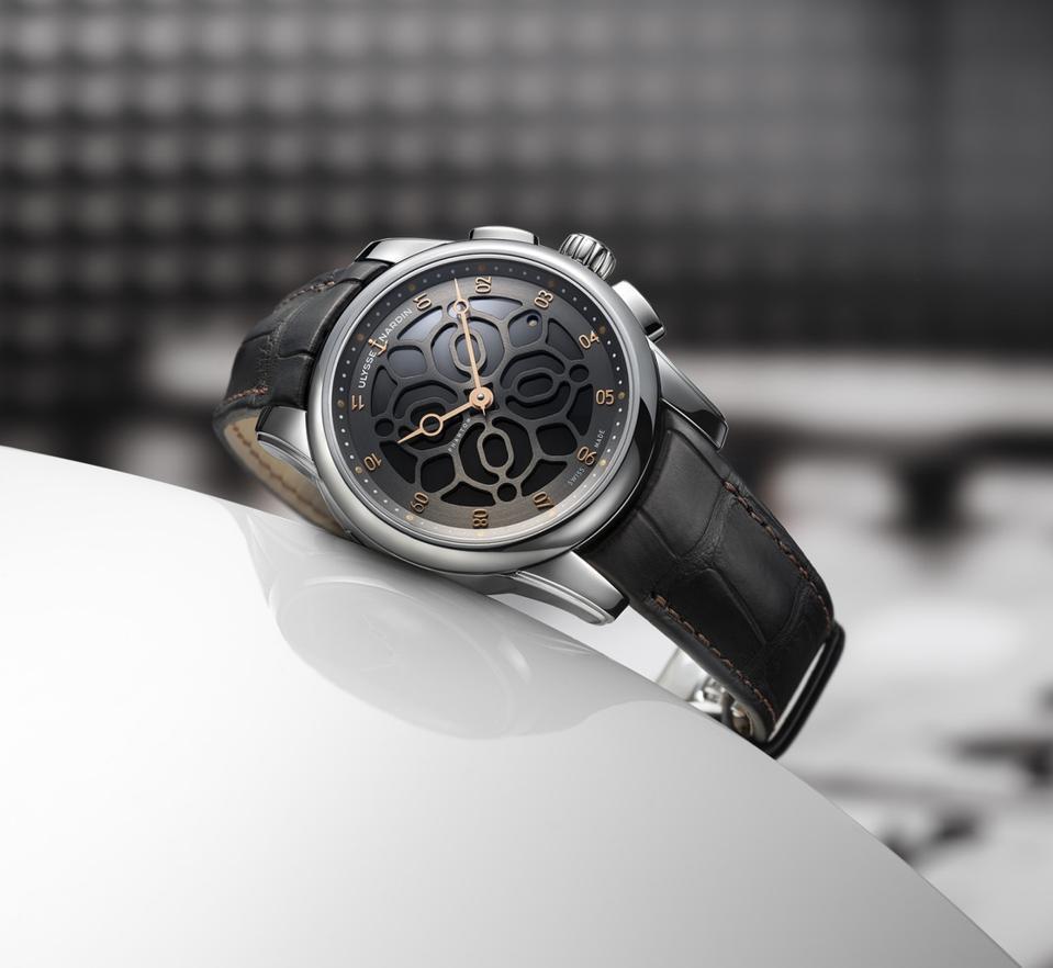 Ulysse Nardin HourStriker Phantom watch, Devialet Phantom speakers
