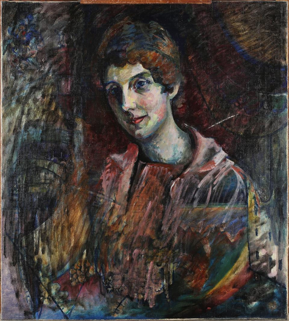 Wassily Kandinsky, ″Portrait of Nina″