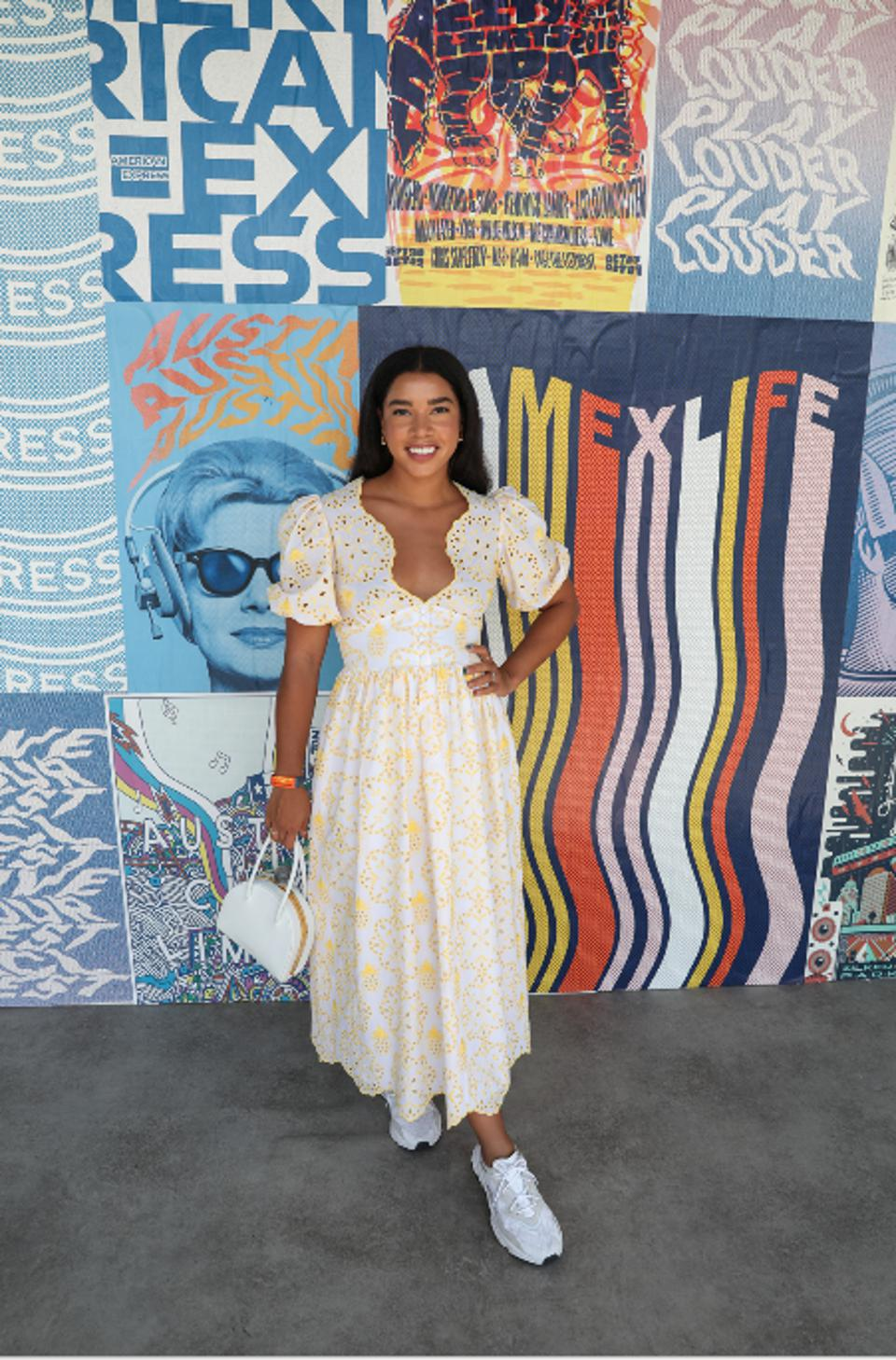 Hannah Bronfman at Austin City Limits 2019.