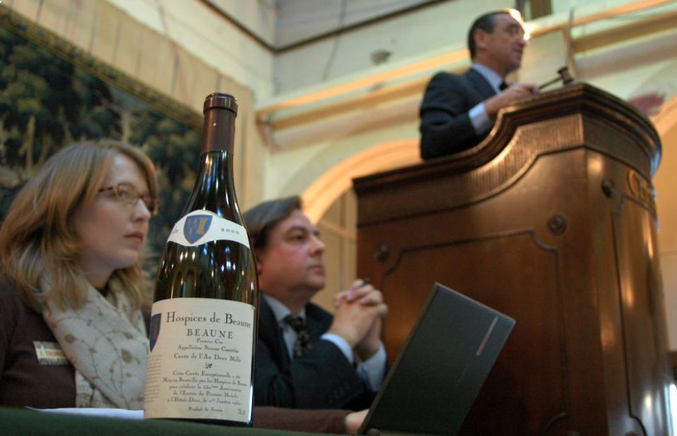 Hospices de Beaune Wine Auction.