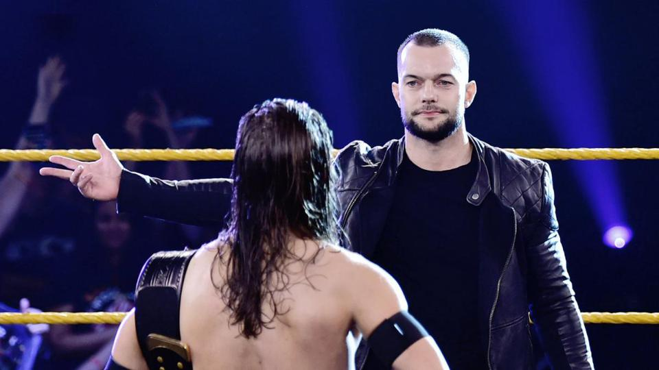 WWE star Finn Balor returns to NXT