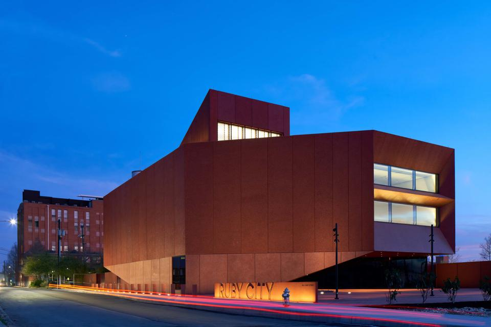 A Vision In Red: Ruby City Opens In San Antonio
