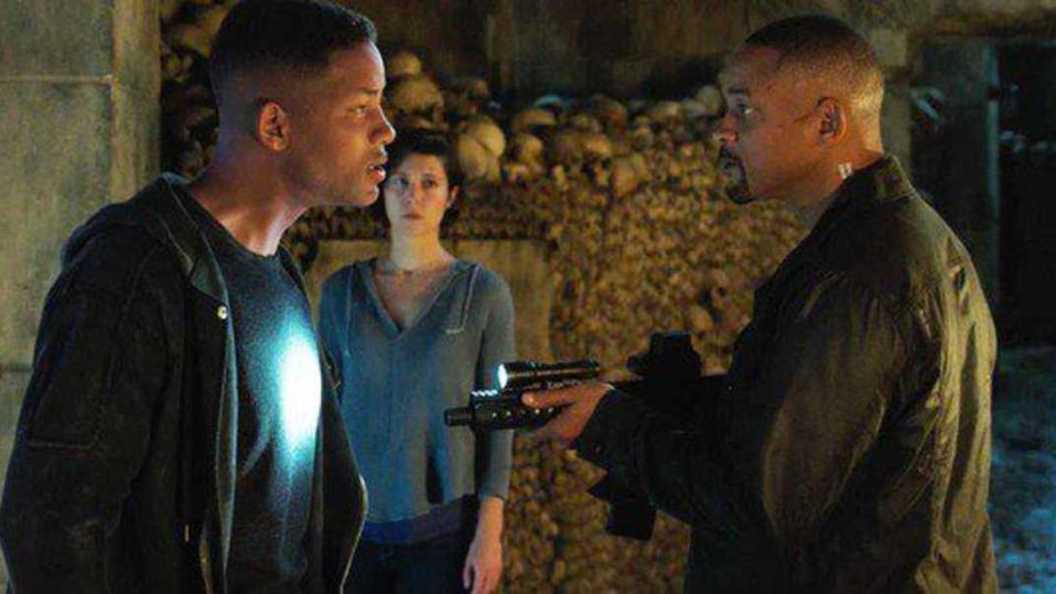 Will Smith and Mary Elizabeth Winstead in Ang Lee's 'Gemini Man'