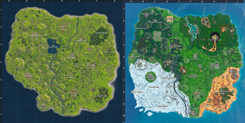 Say Goodbye To Fortnites Iconic Map In 24 Hours It Will Be