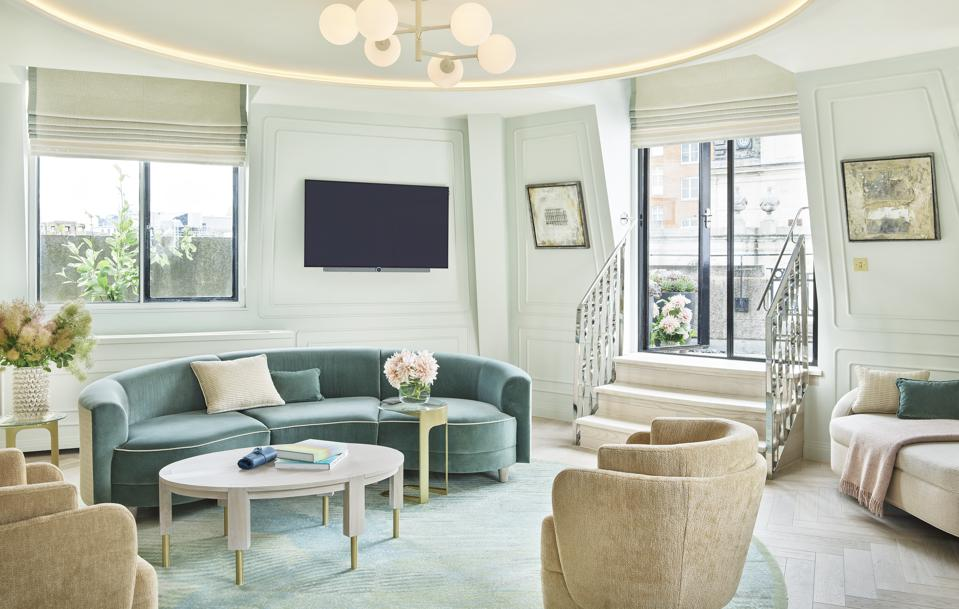A Terrace Suite at One Aldwych