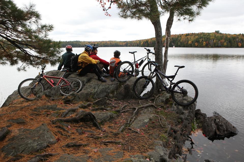 Silent Lake cykling