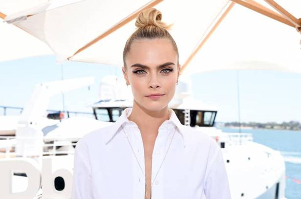 Biolage Celebrity Stylist Mara Roszak styled the iconic Cara Delevingne.