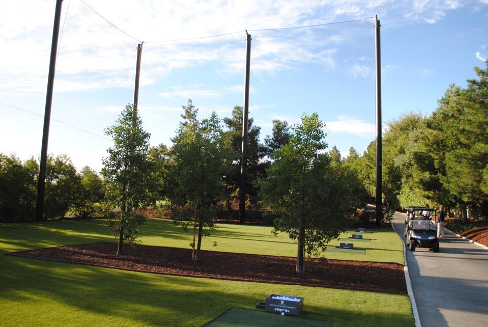 Wynn Golf Club practice area