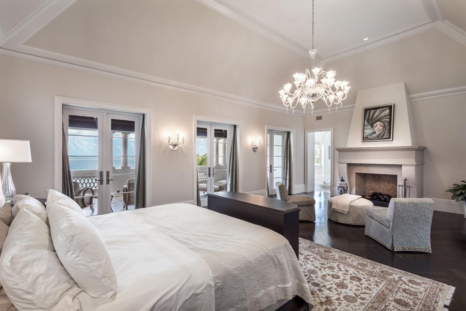 Master bedroom Coral Gables