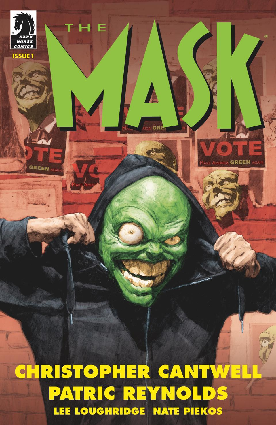 'The Mask' Gets Chocolatey In Provocative First Glimpse At Dark Horse's Revival Comic