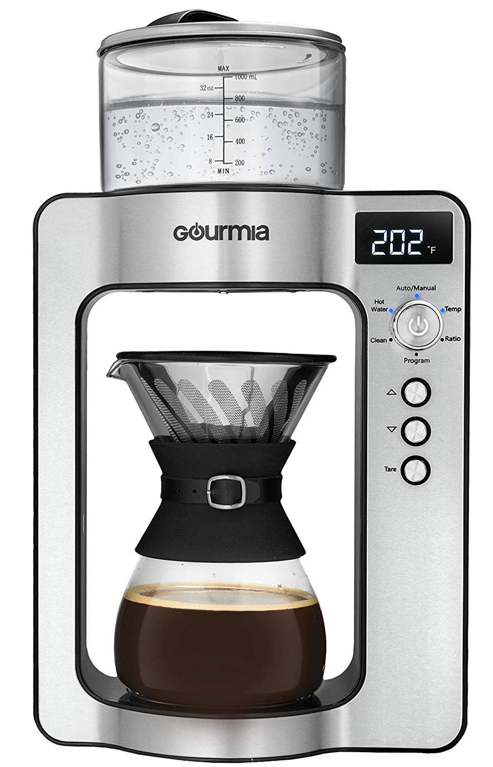 Gourmia Fully Automatic Pour Over Coffee Brewer