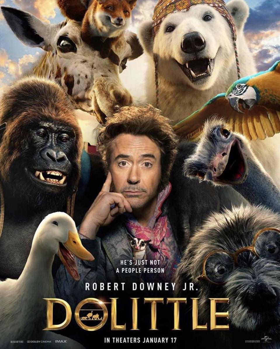 'Dolittle' poster