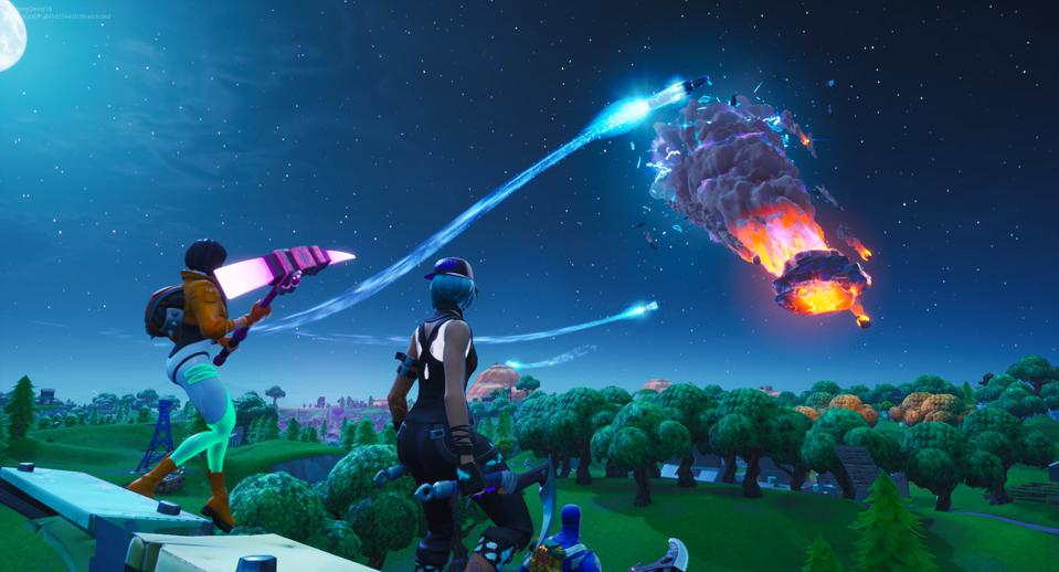 Fortnite Just Blew Up The Map And The Entire Game Is Now